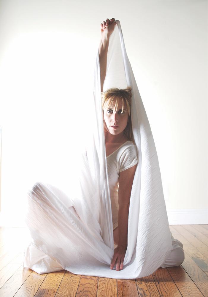 woman; sheet