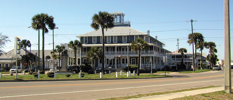 The Gibson Inn in Apalachicola