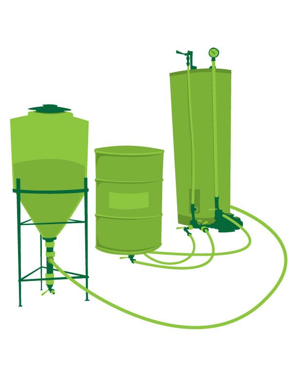 Brewing Biodiesel in Point Washington
