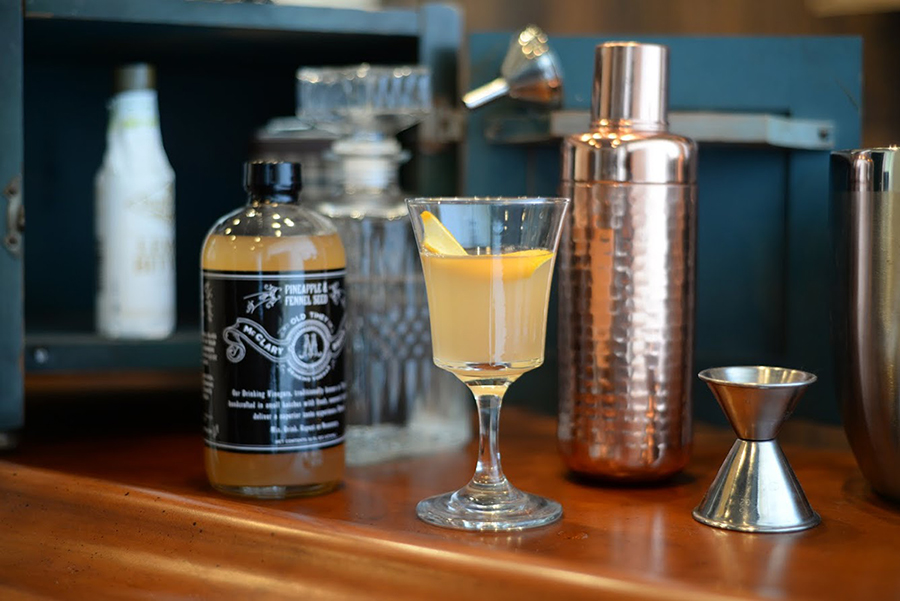 McClary Bros Vineagar Cider Elixir Cocktail