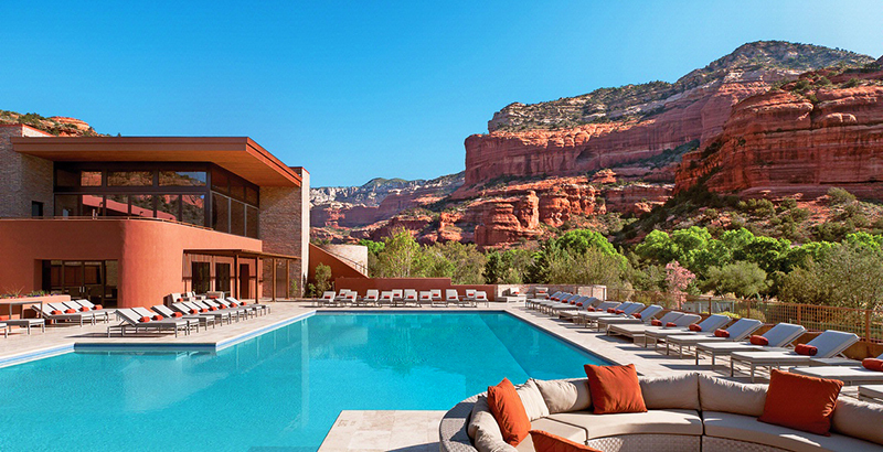 The Enchantment Resort Outdoor Pool in Arizona
