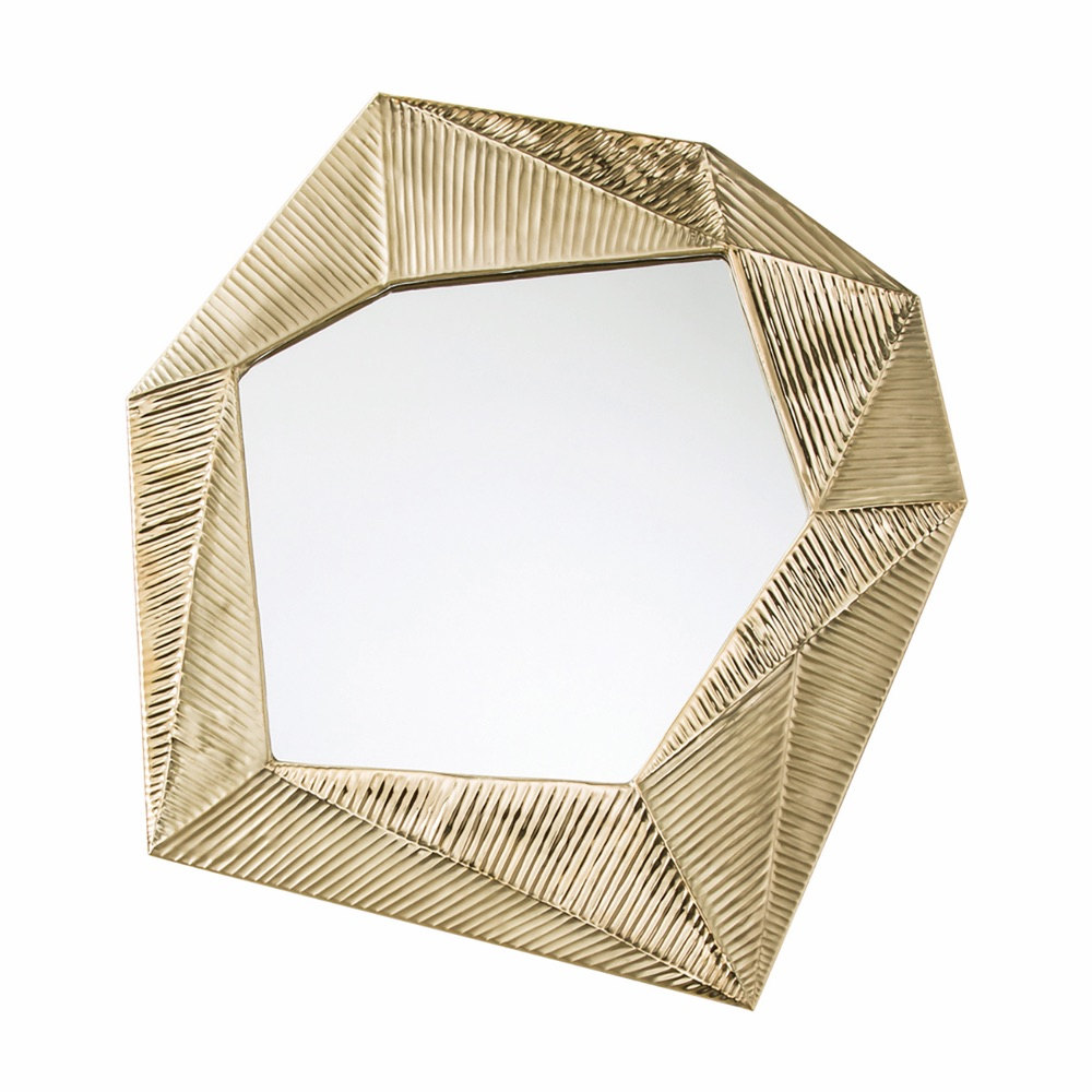 Arteriors Pitney Gold Origami Mirror