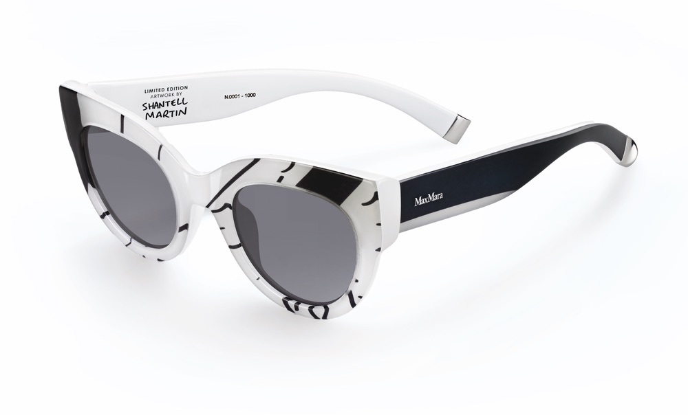 Limited Edition Cat-Eye Sunglasses: Prism in Motion by Shantell Martin