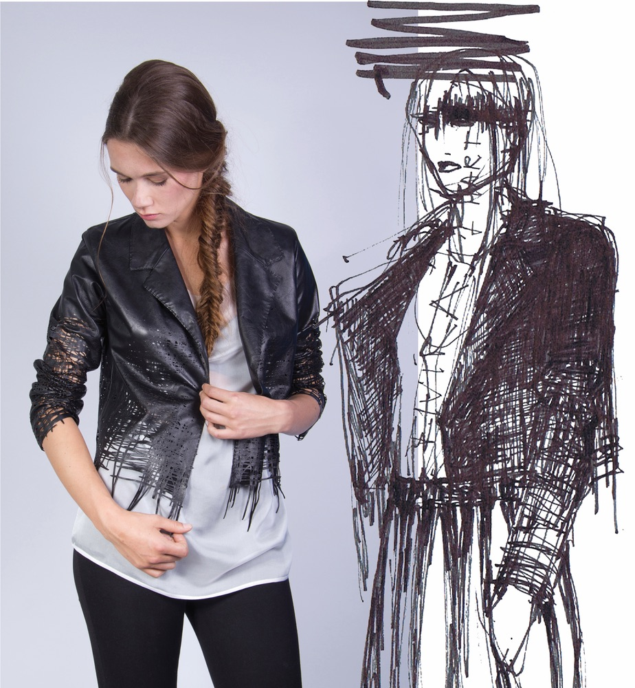 Elvira 't Hart Drawn Jacket