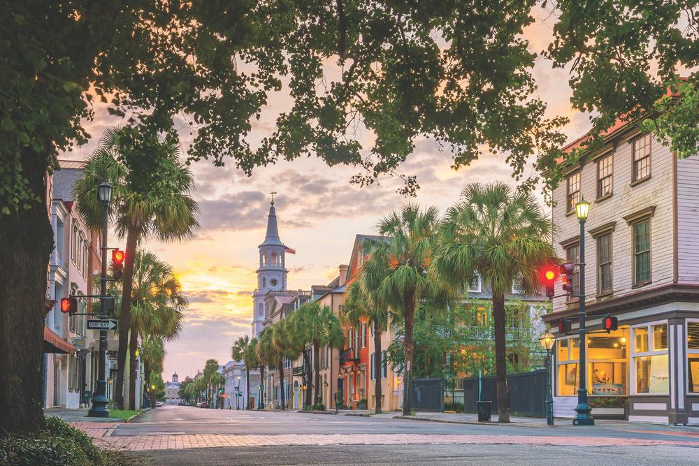 Charleston, South Carolina; downtown