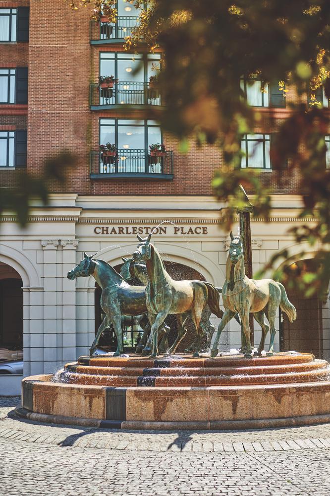 Charleston, South Carolina; Belmond Charleston Place hotel