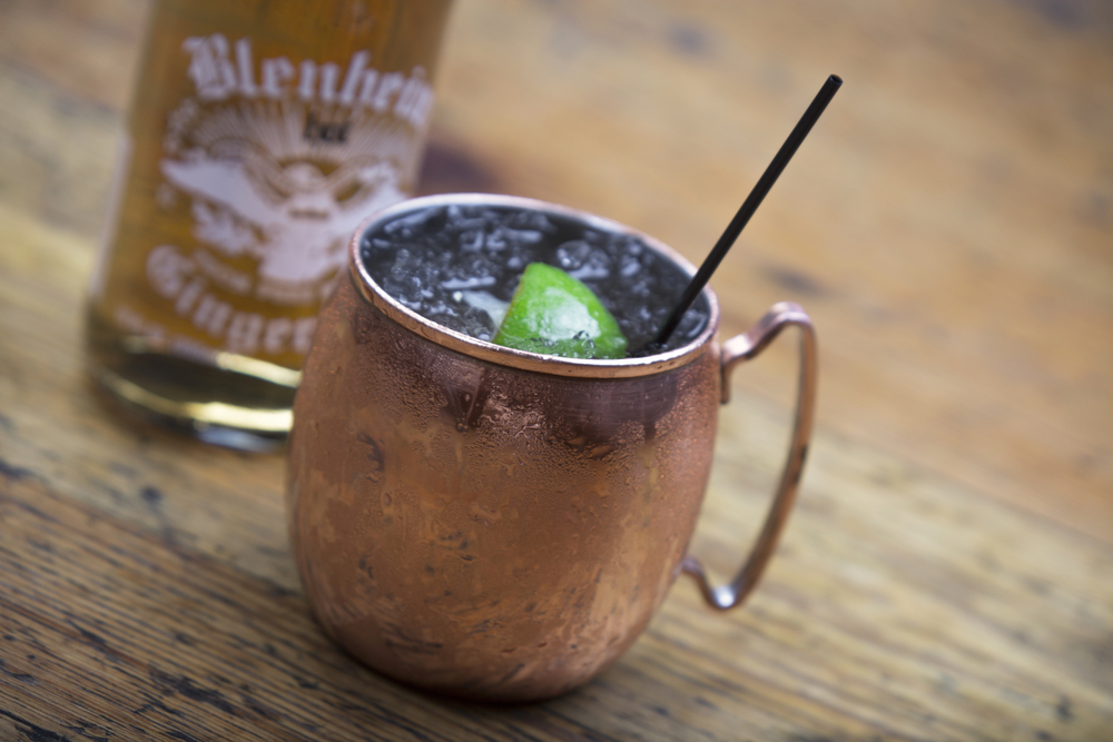 Charleston, South Carolina; High Cotton; Moscow mule