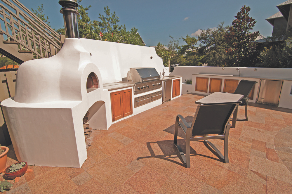 viking; outdoor kitchen