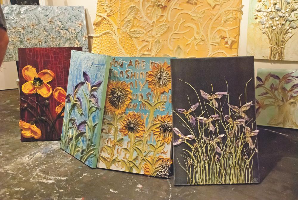 luv is in the air; artwork; paintings