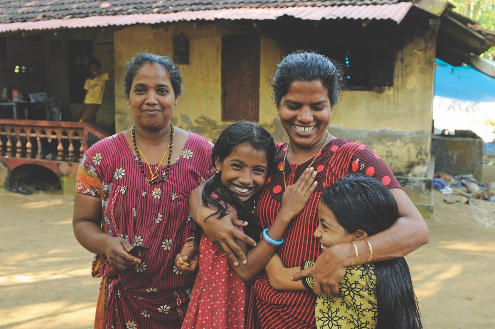 Women in Kerala, India.