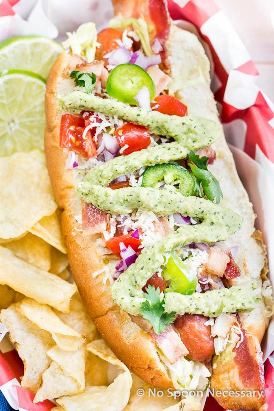 BLT Hot Dogs Courtesy of No Spoon Neccessary