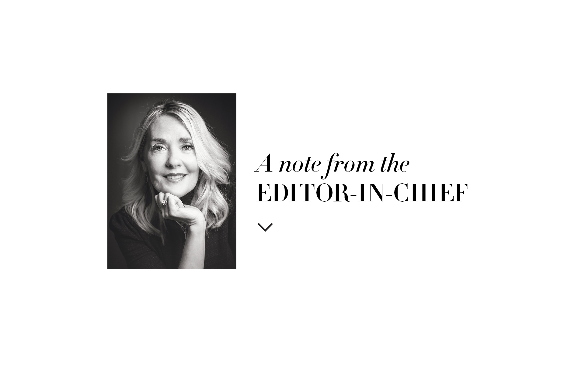 Editor in chief, Lisa Burwell, August 2017 issue of VIE Magazine