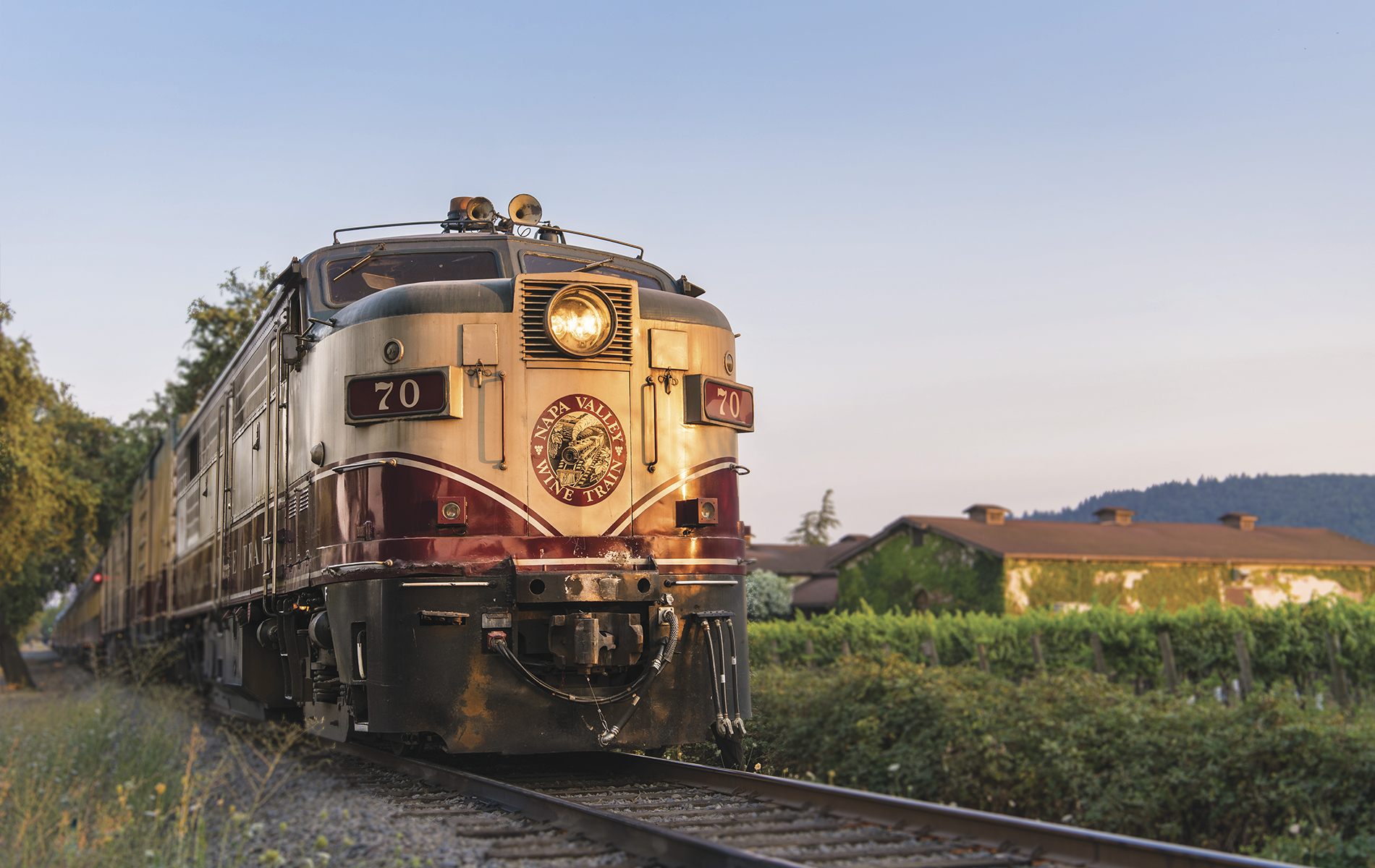Napa Valley Wine Train adventurer VIE 2017