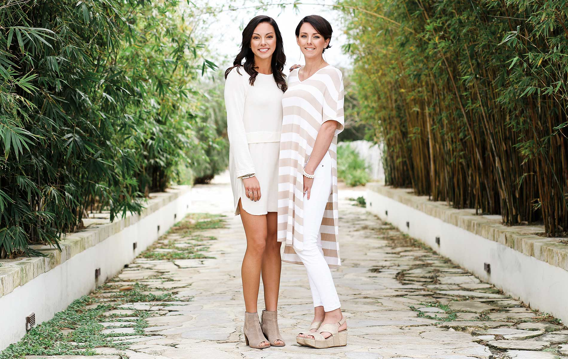 Sisters Katie Steelman and Abbie Boatwright, founders and owners of OKO Lifestyle