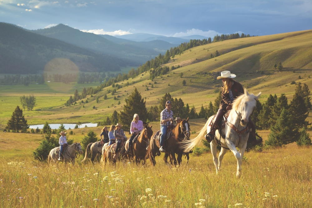 Horse riding adventures await at The Ranch at Rock Creek