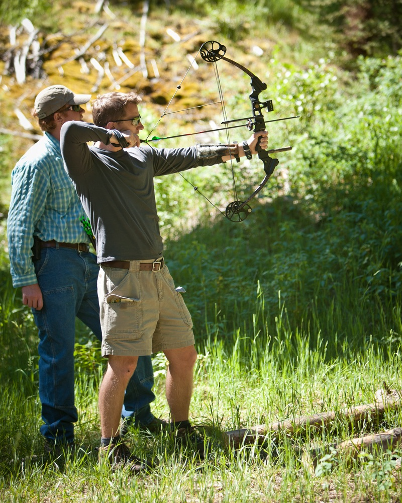 Learn archery at The Ranch at Rock Creek