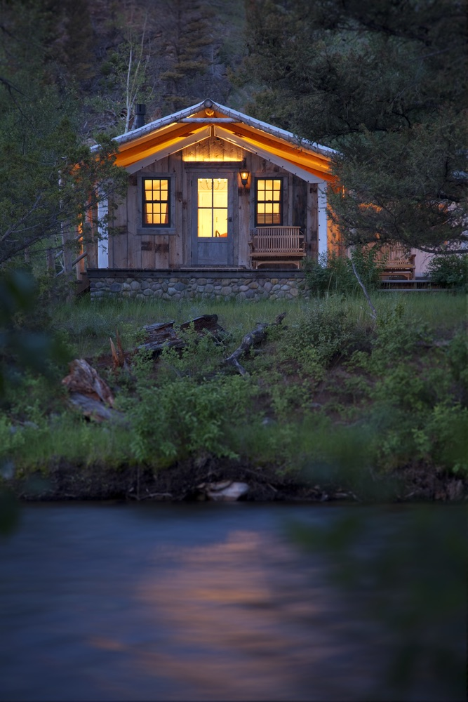 One of the many cabins of The Ranch at Rock Creek