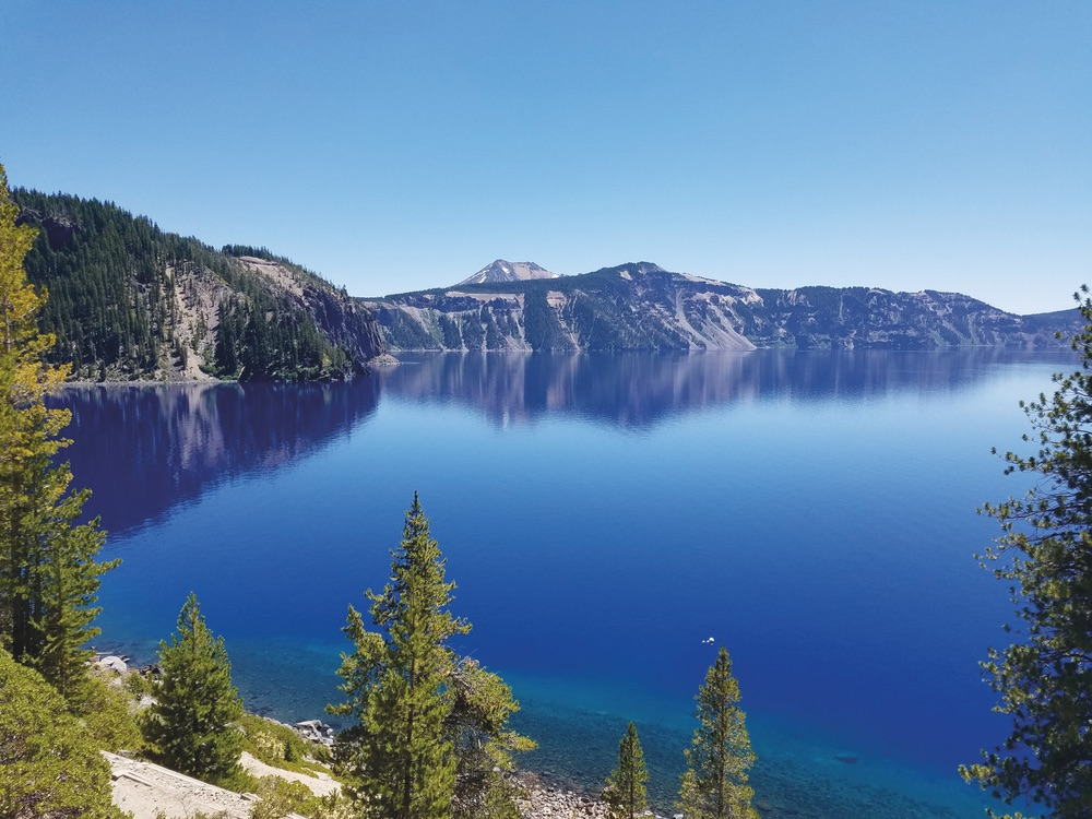 Crater Lake National Park in southern Oregon's Cascade Mountains. Photo by Greg Cayea.