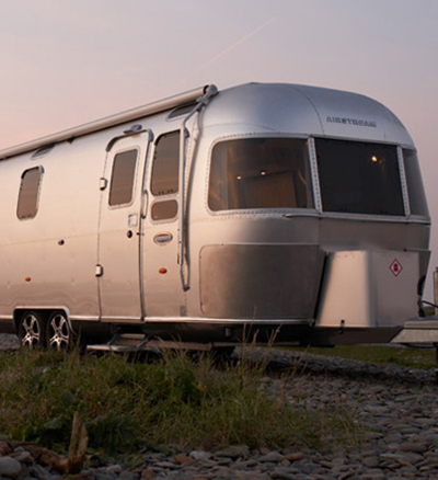 Pop-Up Hotel Airstream Suite Exterior