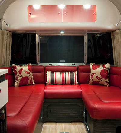 Pop-Up Hotel Airstream Suite Interior