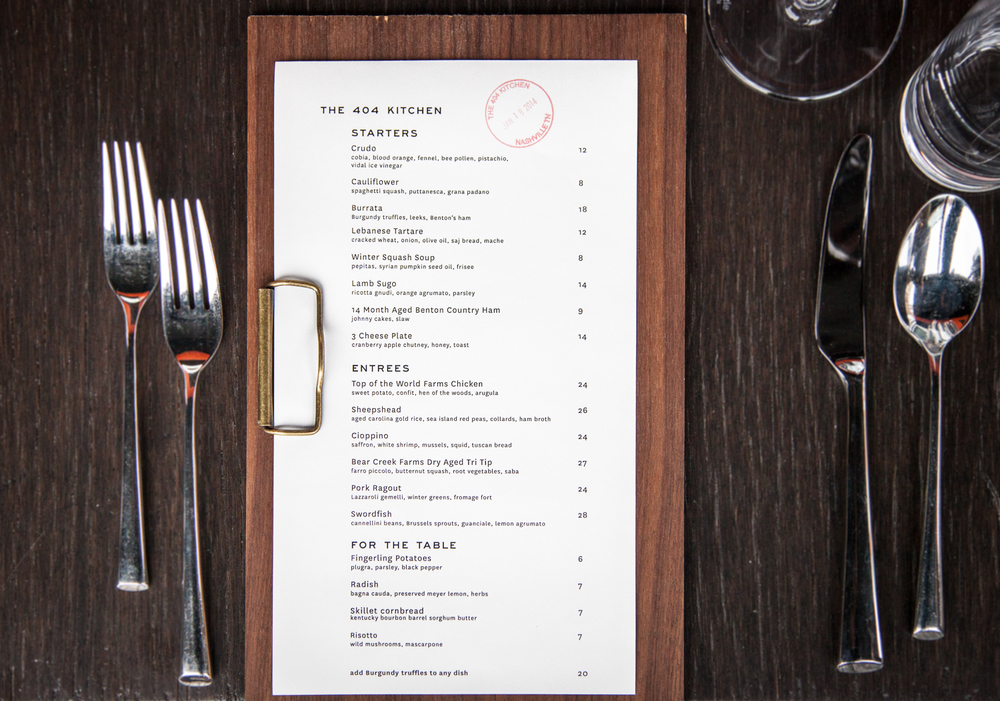 The 404 Kitchen in Nashville Top 10 Restaurants