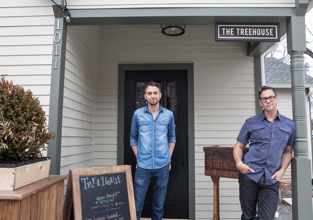 The Treehouse restaurant owners Nashville tennessee top ten restaurants VIE magazine