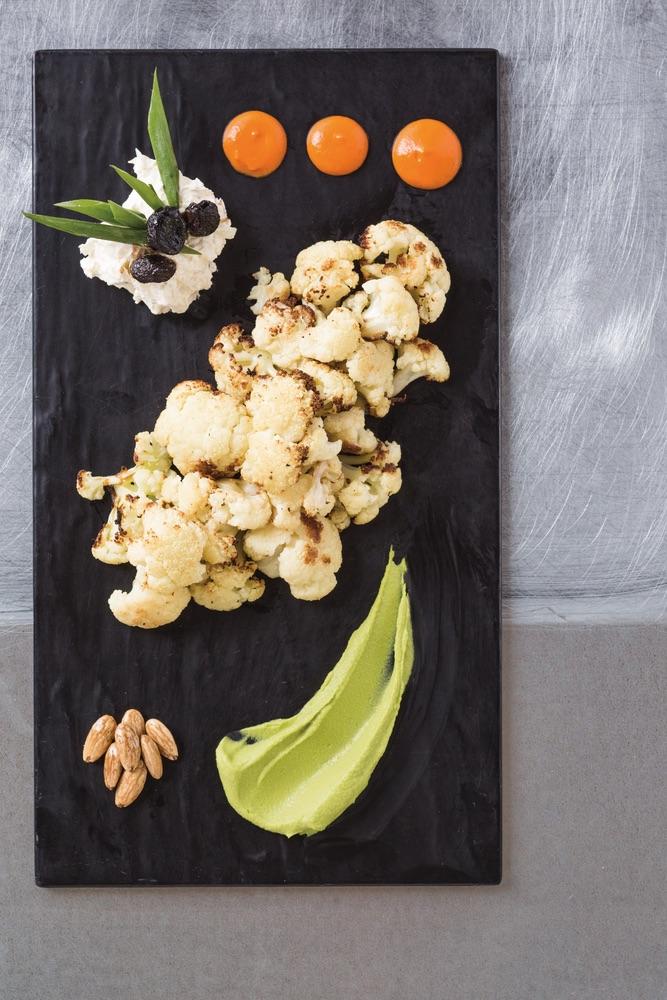 Etch Restaurant Cauliflower dish Nashville Tennessee VIE Magazine 2017 Top Ten