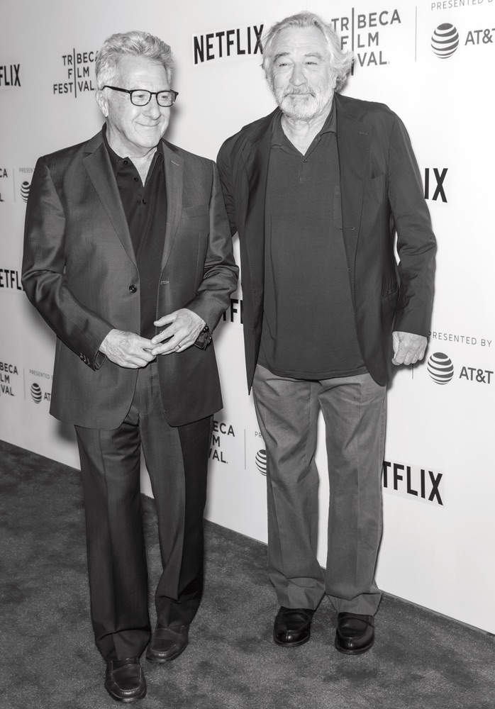 Dustin Hoffman and Robert De Niro attend Tribeca Talks Film Festival 2017