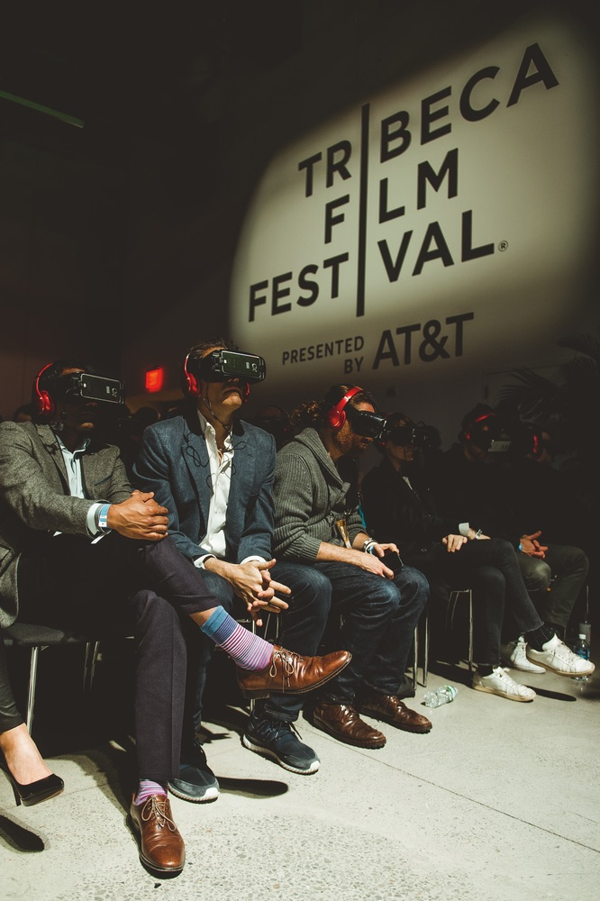 Tribeca Film Festival Immersive's Storyscapes and Virtual Arcade VIE 2017