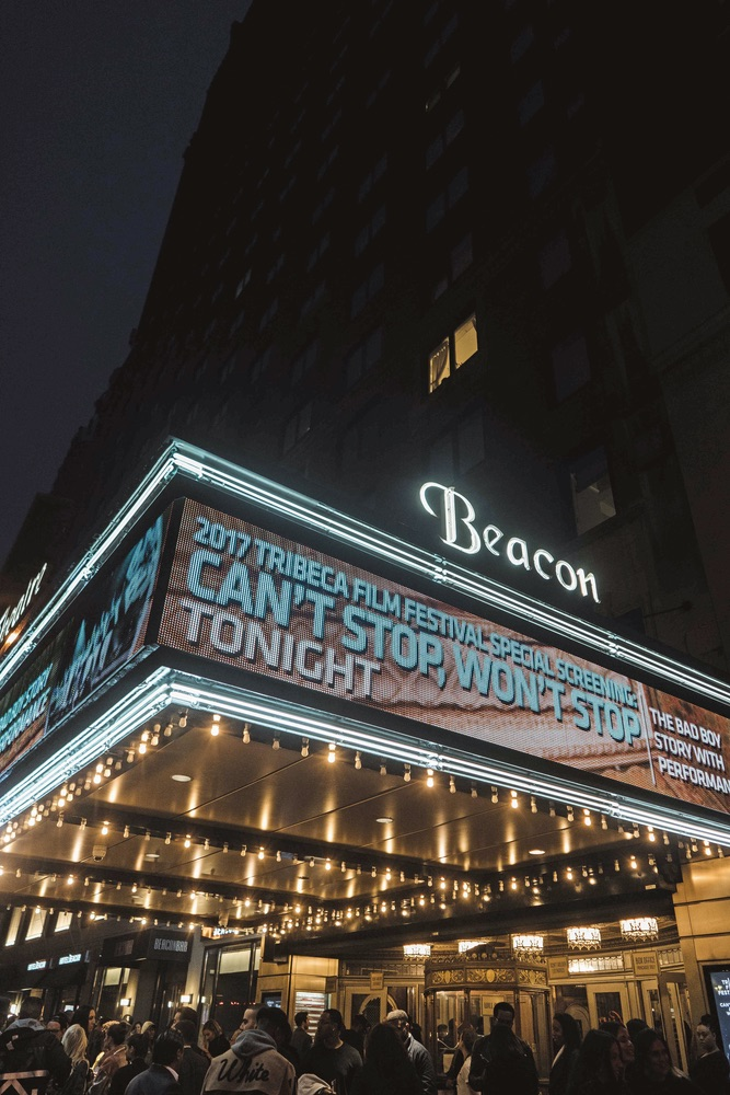 The Beacon Theatre in Manhattan's Upper West Side Tribeca Film Festival 2017