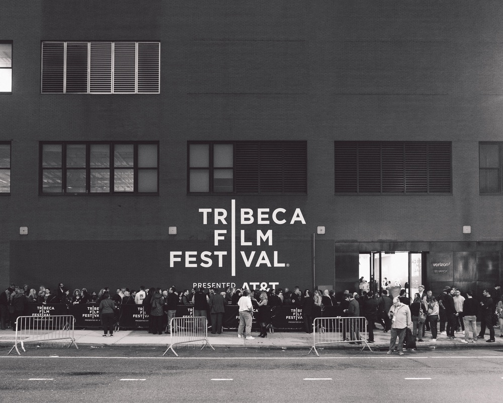 Tribeca Film Festival wall in Manhattan VIE Magazine Storytellers Issue 2017