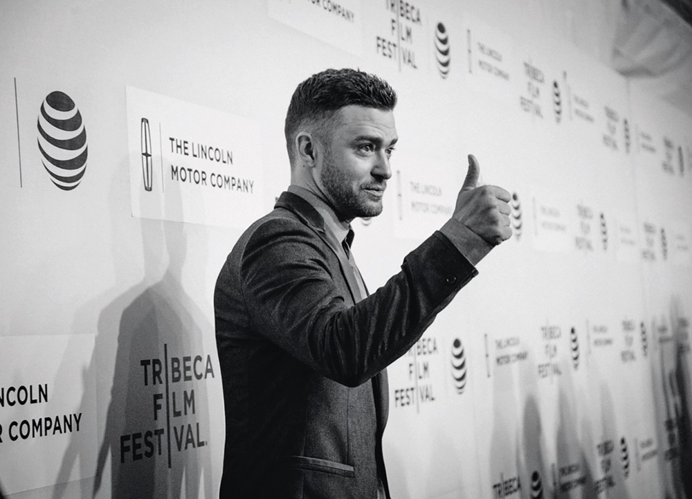 Justin Timberlake at the 2016 Tribeca Film Festival Celebrity Actor VIE Magazine 2017