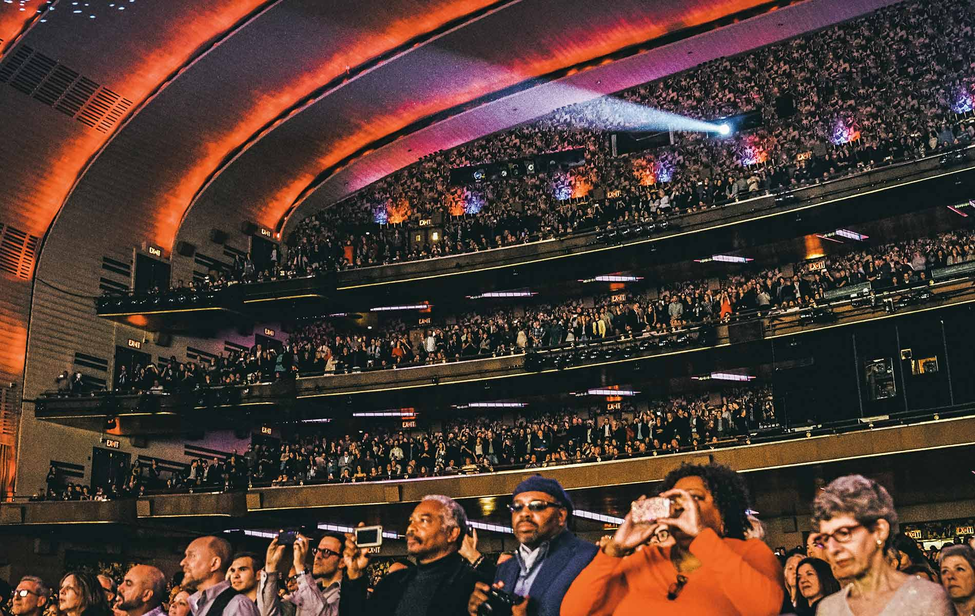 Radio City Music Hall for the Tribeca Film Festival 2017 Storytellers Issue 2017