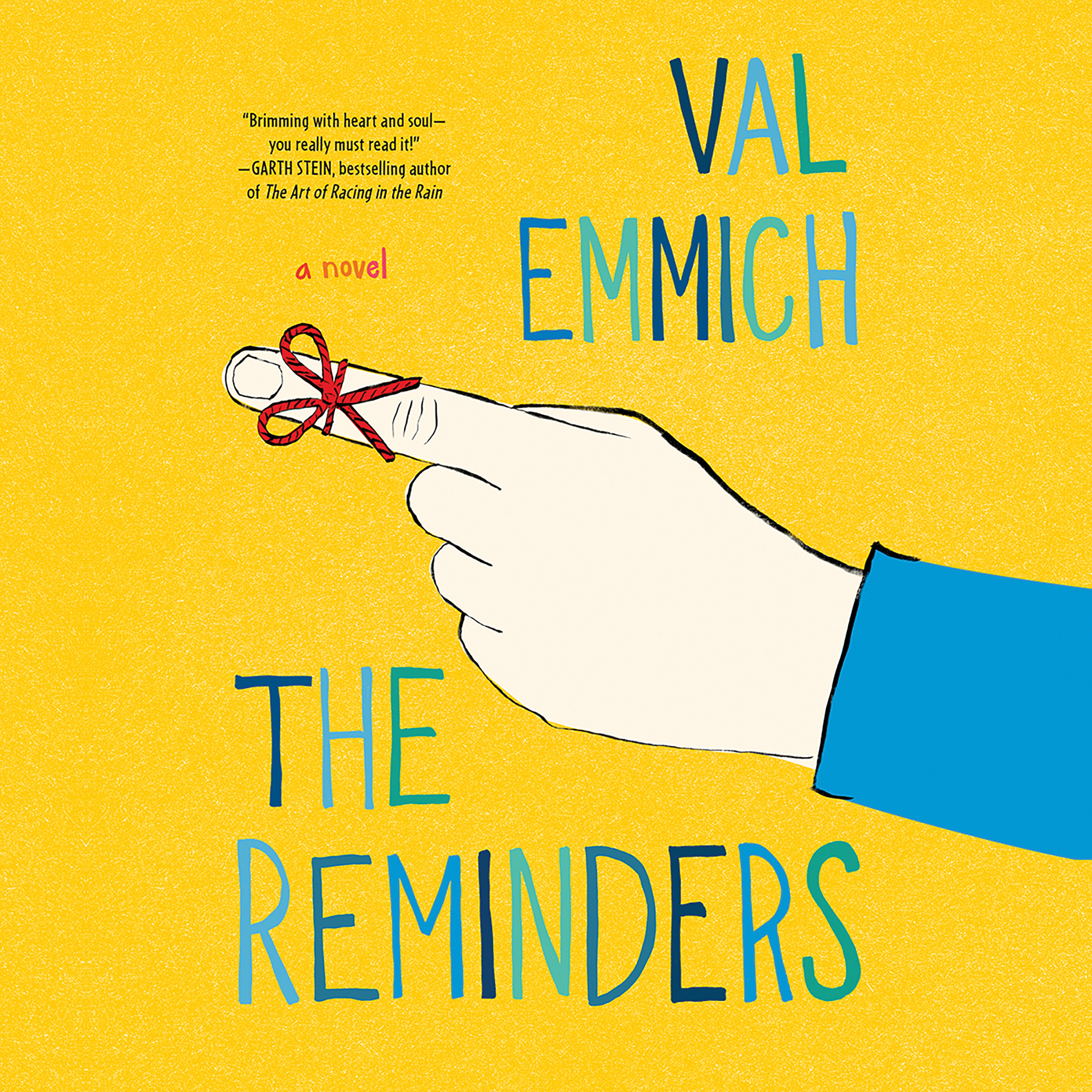 The Reminders by Val Emmich Book Cover Summer Reading