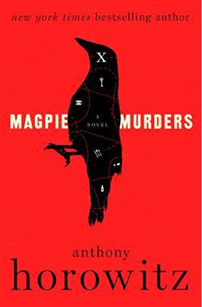 Magpie Murders by Anthony Horowitz book cover