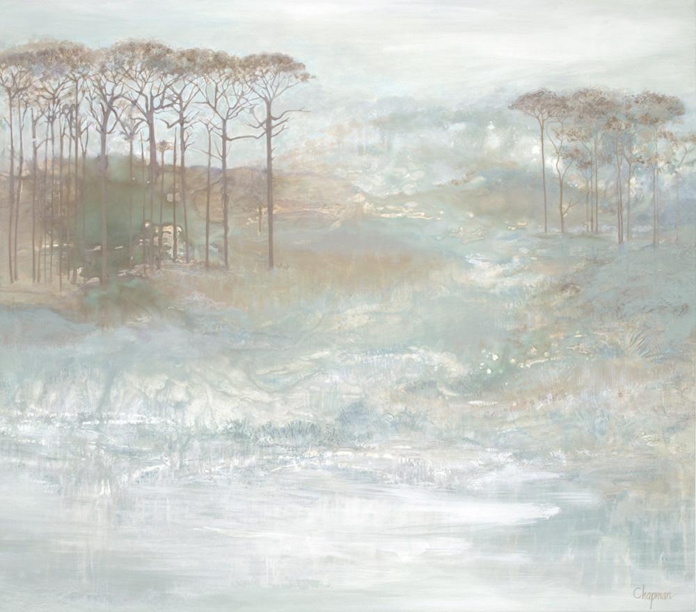 Original canvas Soft Landscapes – Coastal series by Elizabeth Chapman