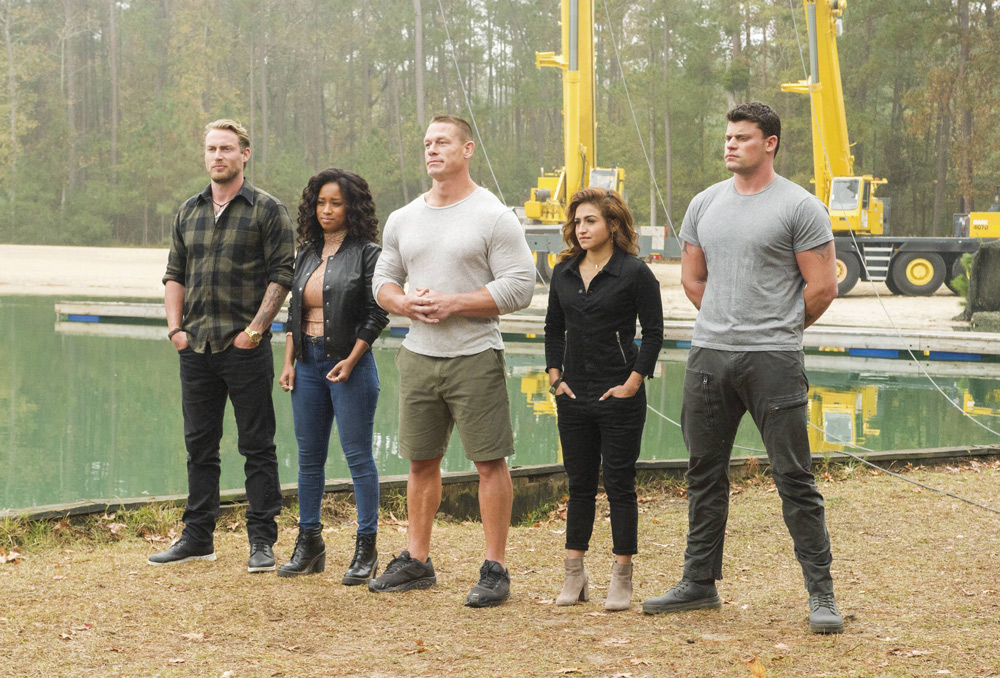 "Season Two of FOX's reality fitness competition series American Grit, hosted by WWE superstar John Cena, turned parts of Hampton Island into ""Camp Grit"" for filming. The season aired throughout the summer of this year. Photo by Jeffrey Neira/FOX"