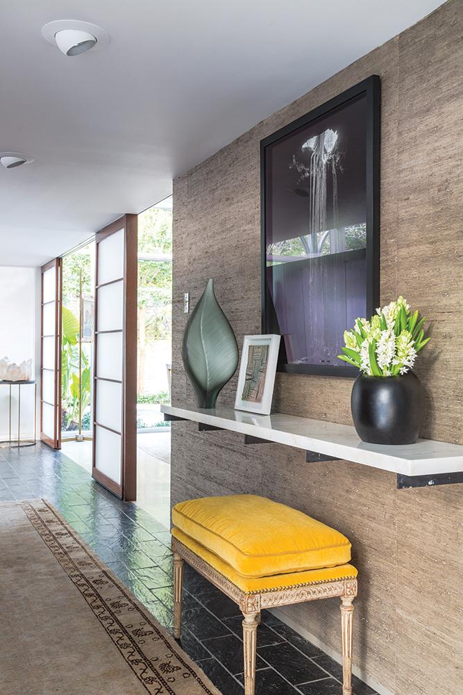 ledbetter home, entryway