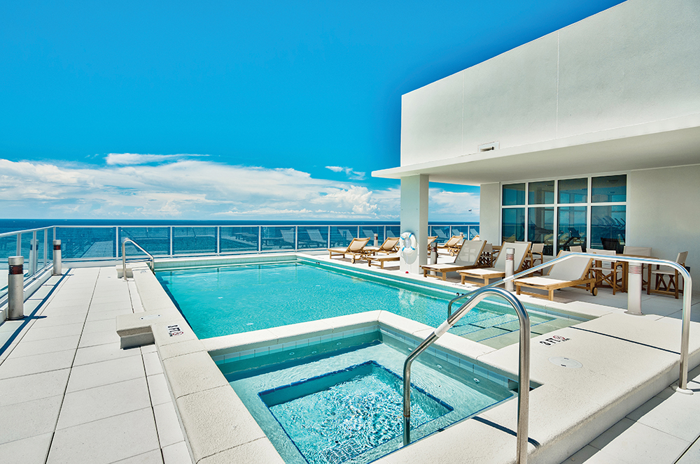 scenic sothebys, pool, rooftop