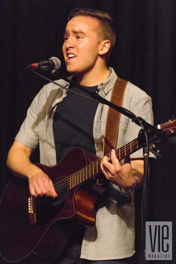 Mac Porter performing at VIE Magazine's