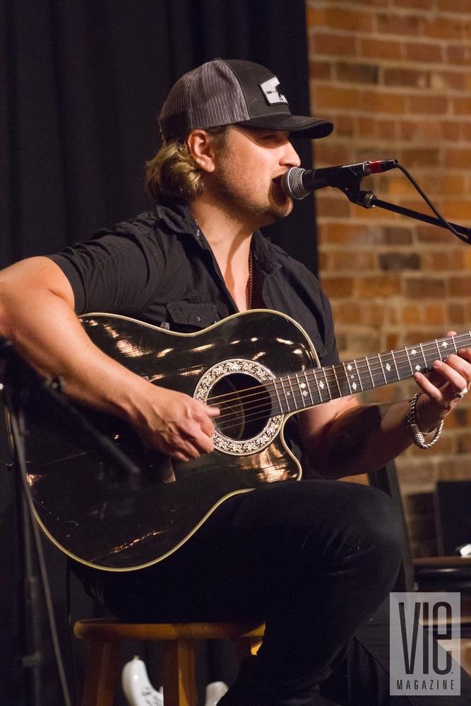 Billy Dawson performing at VIE Magazine's