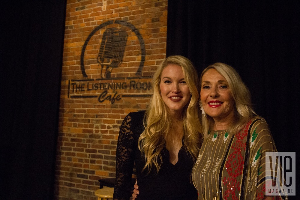 American country music singer and songwriter, Ashley Campbell, and VIE Magazine's Founder/Editor-in-Chief, Lisa Burwell
