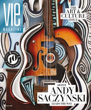 VIE Magazine - November 2017 Art & Culture Issue