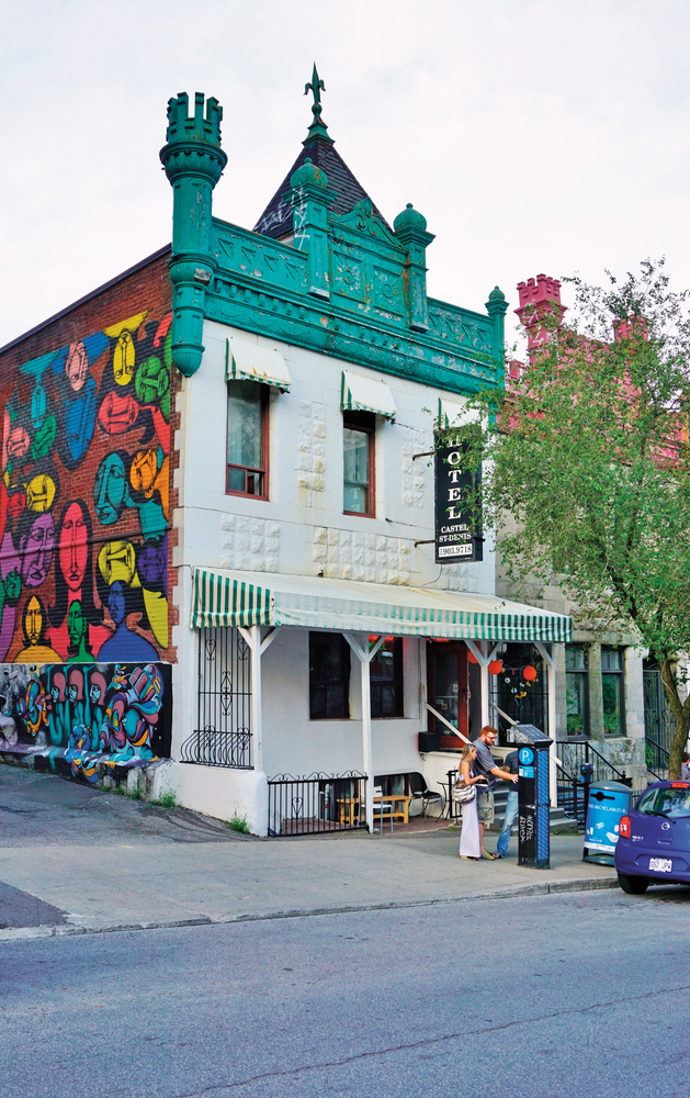 Rather than seeing street art as vandalism, the Montreal community embraces it as a beautiful way to liven up the city and showcase its culture. Photo by EQRoy