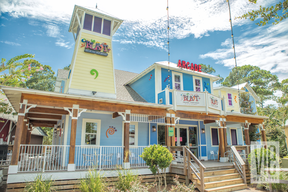 Blast Arcade and the Baytowne Adventure Zone make for a fun time in The Village of Baytowne Wharf
