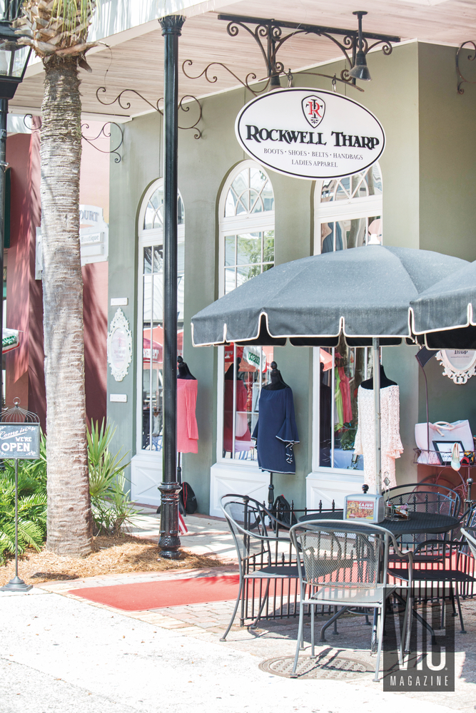 Exterior shot of Rockwell Tharp in The Village of Baytowne Wharf