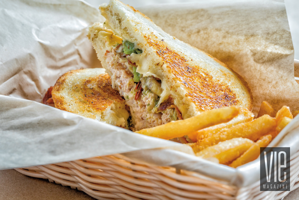 Grilled Cheese sandwich from Baytowne Provisions Chef Lee The Village