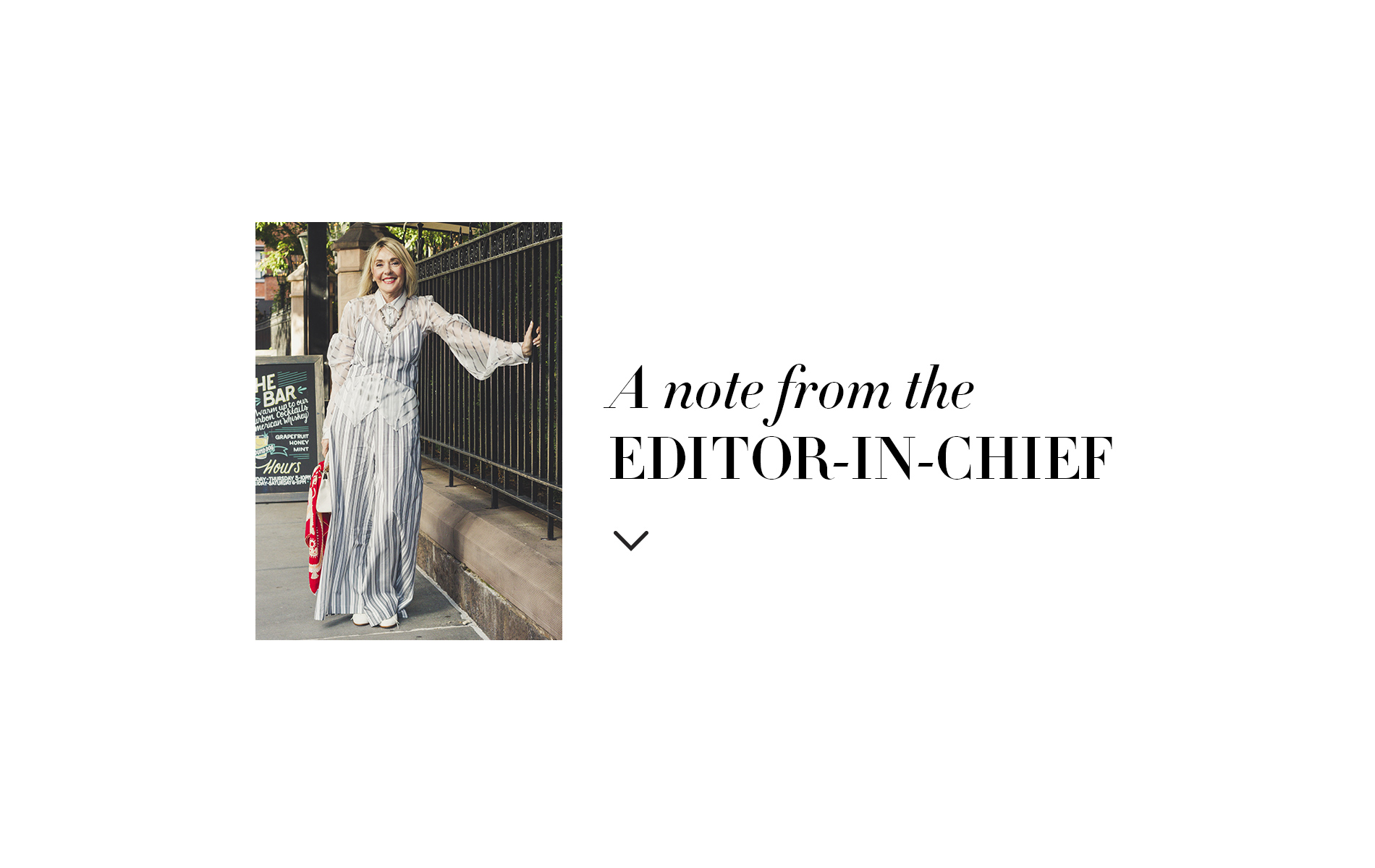 Editor in Chief Note by Lisa Burwell, November 2017 The Art & Culture issue.