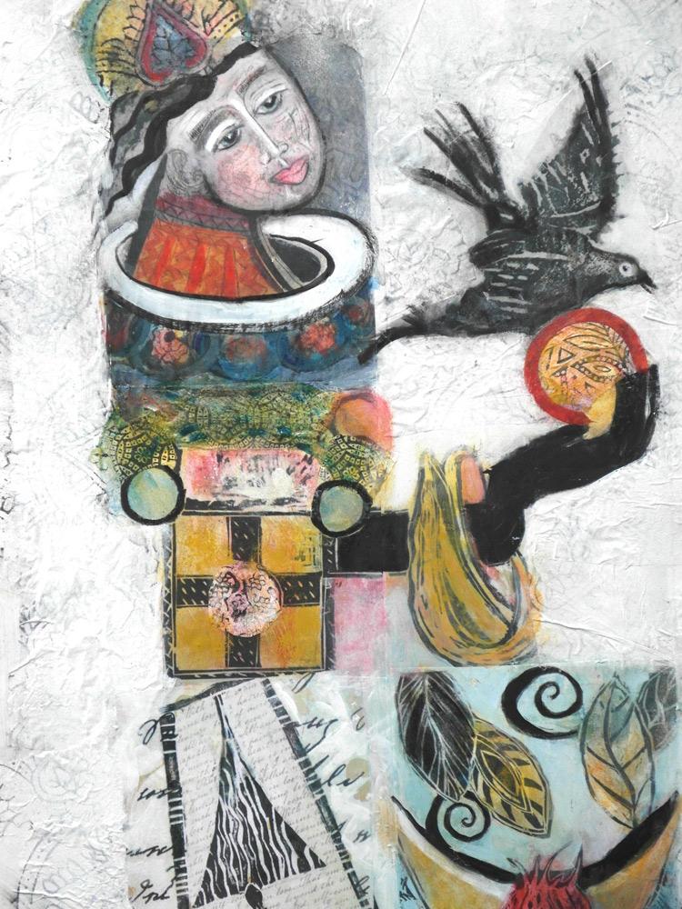 Marti Schmidt Art, Talisman Two
