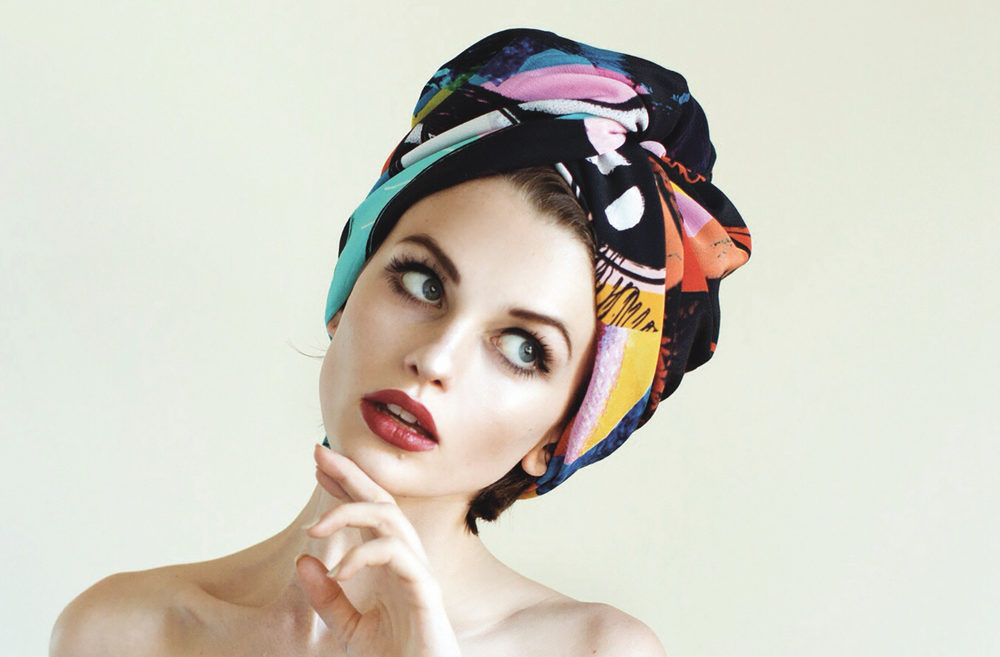 Tropicalia Scarf colorful head scarf cest la vie art and culture november 2017